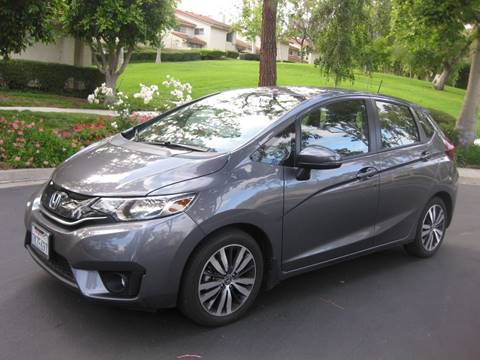 2017 Honda Fit for sale at E MOTORCARS in Fullerton CA