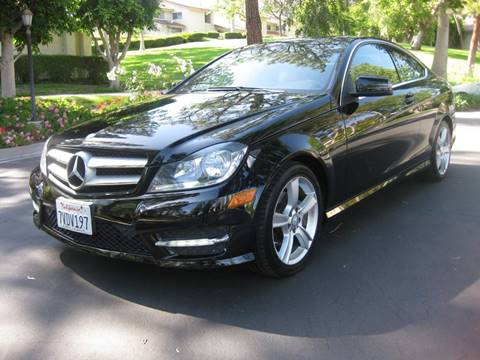 2013 Mercedes-Benz C-Class for sale at E MOTORCARS in Fullerton CA