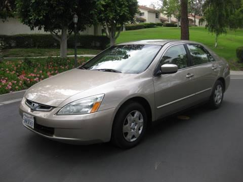 2005 Honda Accord for sale at E MOTORCARS in Fullerton CA
