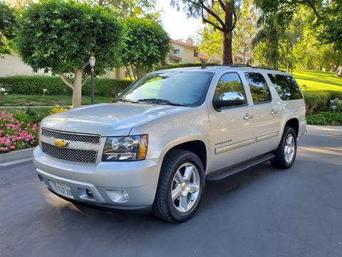2012 Chevrolet Suburban for sale at E MOTORCARS in Fullerton CA
