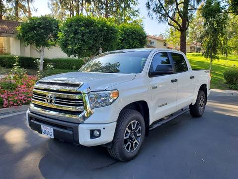 2017 Toyota Tundra for sale at E MOTORCARS in Fullerton CA
