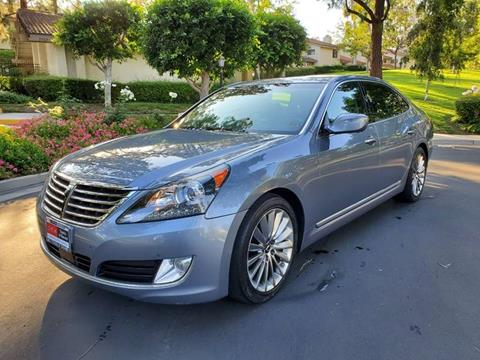 2014 Hyundai Equus for sale at E MOTORCARS in Fullerton CA