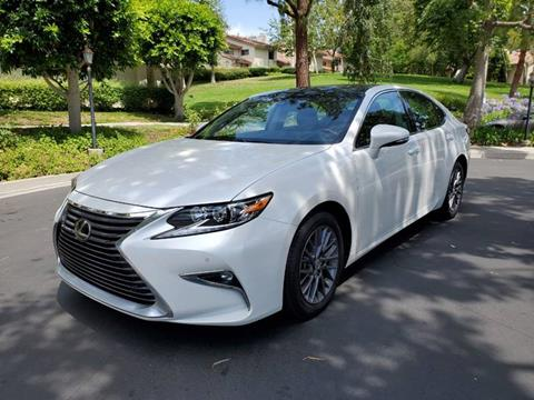 2018 Lexus ES 350 for sale at E MOTORCARS in Fullerton CA
