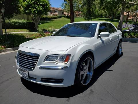 2012 Chrysler 300 for sale at E MOTORCARS in Fullerton CA