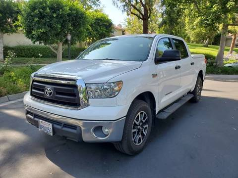 2012 Toyota Tundra for sale at E MOTORCARS in Fullerton CA
