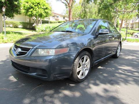 2004 Acura TSX for sale at E MOTORCARS in Fullerton CA