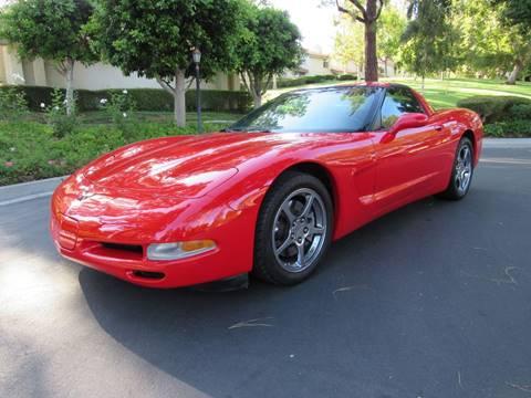 2004 Chevrolet Corvette for sale at E MOTORCARS in Fullerton CA
