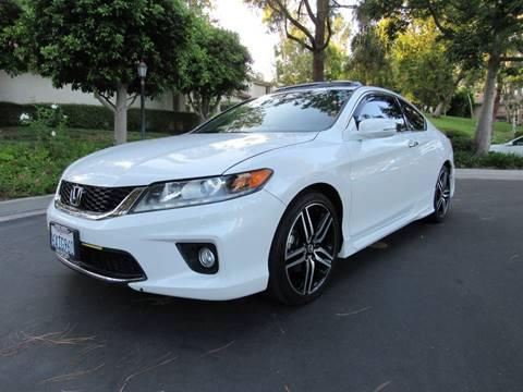 2013 Honda Accord for sale at E MOTORCARS in Fullerton CA