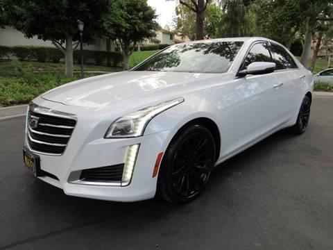 2015 Cadillac CTS for sale at E MOTORCARS in Fullerton CA