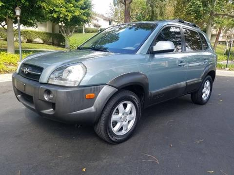 2005 Hyundai Tucson for sale at E MOTORCARS in Fullerton CA