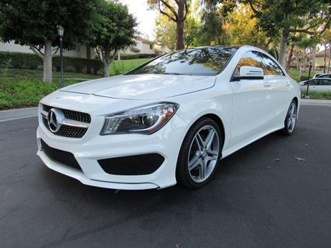 2014 Mercedes-Benz CLA for sale at E MOTORCARS in Fullerton CA