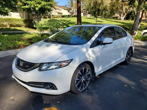 2013 Honda Civic for sale at E MOTORCARS in Fullerton CA