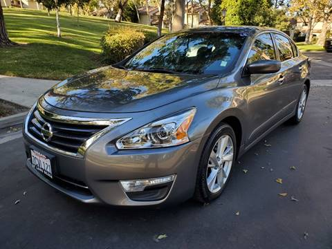 2014 Nissan Altima for sale at E MOTORCARS in Fullerton CA