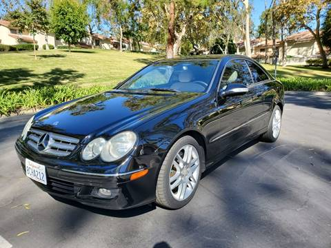 2008 Mercedes-Benz CLK for sale at E MOTORCARS in Fullerton CA