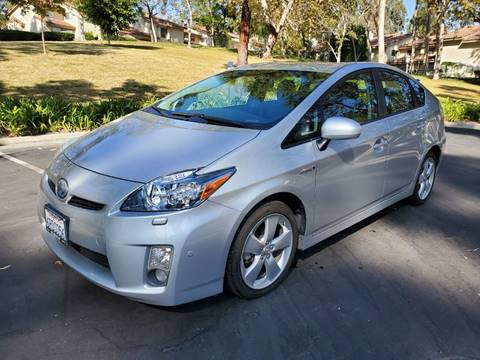 2011 Toyota Prius for sale at E MOTORCARS in Fullerton CA
