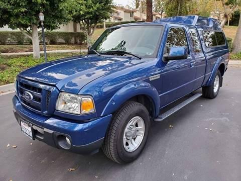 2010 Ford Ranger for sale at E MOTORCARS in Fullerton CA