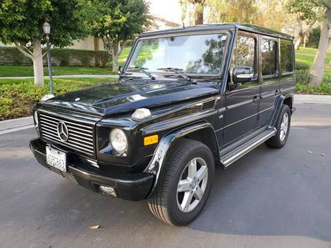 2008 Mercedes-Benz G-Class for sale at E MOTORCARS in Fullerton CA