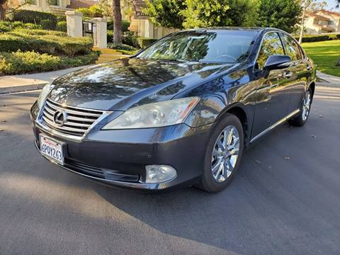 2011 Lexus ES 350 for sale at E MOTORCARS in Fullerton CA