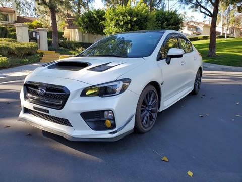 2015 Subaru WRX for sale at E MOTORCARS in Fullerton CA