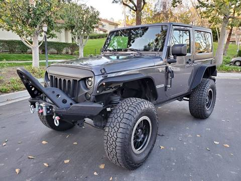 2016 Jeep Wrangler for sale at E MOTORCARS in Fullerton CA