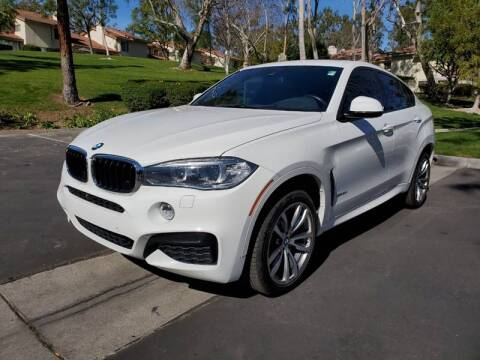 2016 BMW X6 for sale at E MOTORCARS in Fullerton CA