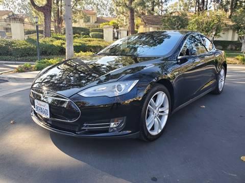 2015 Tesla Model S for sale at E MOTORCARS in Fullerton CA