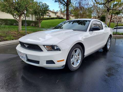 2010 Ford Mustang for sale at E MOTORCARS in Fullerton CA