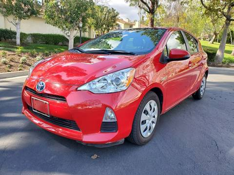 2014 Toyota Prius c for sale at E MOTORCARS in Fullerton CA