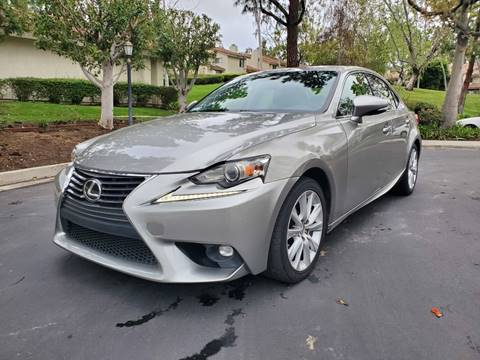 2016 Lexus IS 200t for sale at E MOTORCARS in Fullerton CA