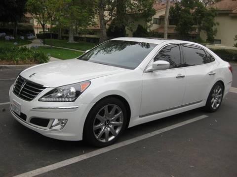 2013 Hyundai Equus for sale at E MOTORCARS in Fullerton CA