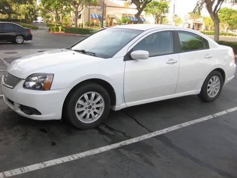 2012 Mitsubishi Galant for sale at E MOTORCARS in Fullerton CA