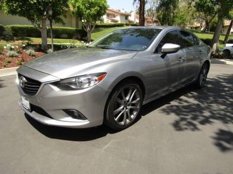 2014 Mazda MAZDA6 for sale at E MOTORCARS in Fullerton CA