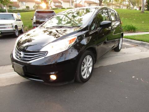 2015 Nissan Versa Note for sale at E MOTORCARS in Fullerton CA