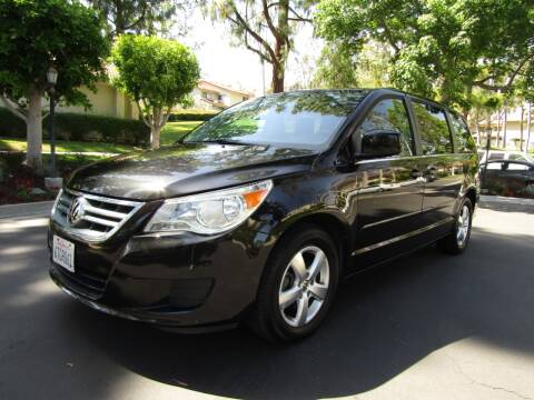 2011 Volkswagen Routan for sale at E MOTORCARS in Fullerton CA