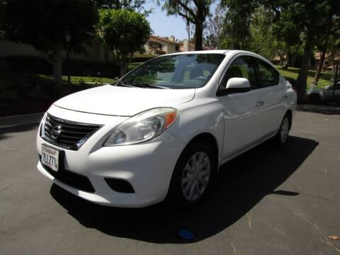 2014 Nissan Versa for sale at E MOTORCARS in Fullerton CA