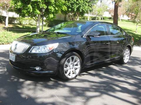 2012 Buick LaCrosse for sale at E MOTORCARS in Fullerton CA