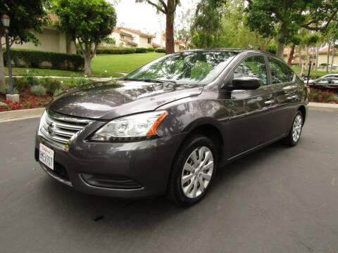2015 Nissan Sentra for sale at E MOTORCARS in Fullerton CA