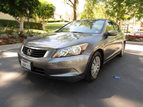 2008 Honda Accord for sale at E MOTORCARS in Fullerton CA