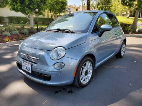 2013 FIAT 500 for sale at E MOTORCARS in Fullerton CA