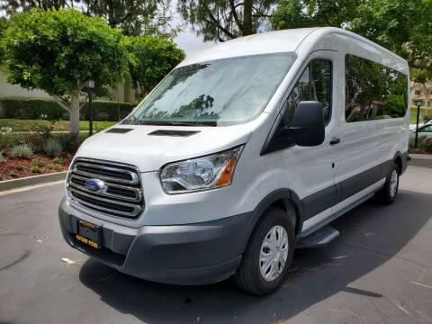2018 Ford Transit Passenger for sale at E MOTORCARS in Fullerton CA
