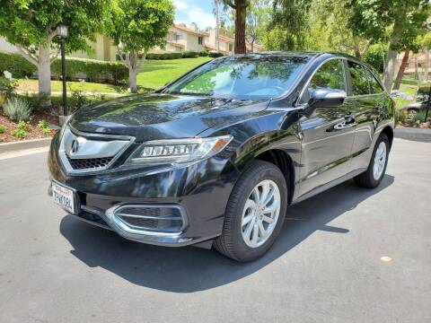 2016 Acura RDX for sale at E MOTORCARS in Fullerton CA