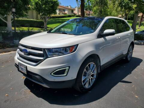 2016 Ford Edge for sale at E MOTORCARS in Fullerton CA