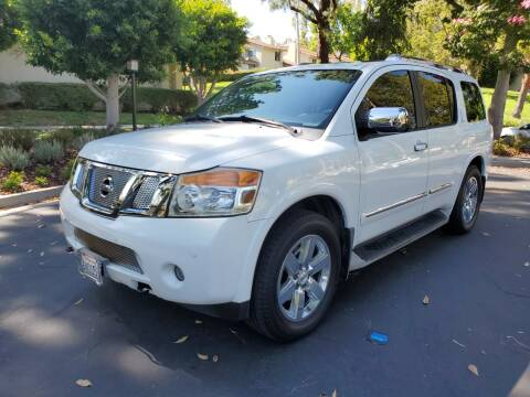 2010 Nissan Armada for sale at E MOTORCARS in Fullerton CA