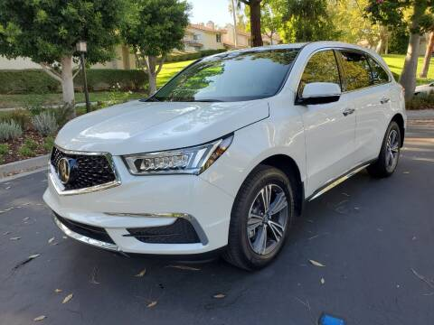 2018 Acura MDX for sale at E MOTORCARS in Fullerton CA