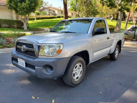 2011 Toyota Tacoma for sale at E MOTORCARS in Fullerton CA