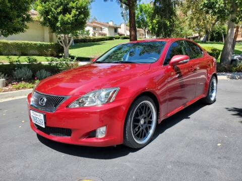 2010 Lexus IS 250 for sale at E MOTORCARS in Fullerton CA