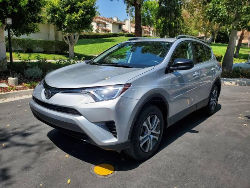 2018 Toyota RAV4 for sale at E MOTORCARS in Fullerton CA