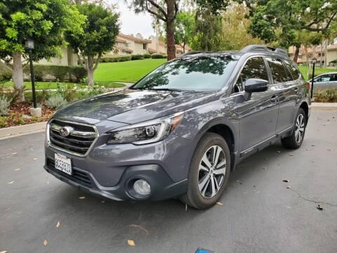2018 Subaru Outback for sale at E MOTORCARS in Fullerton CA