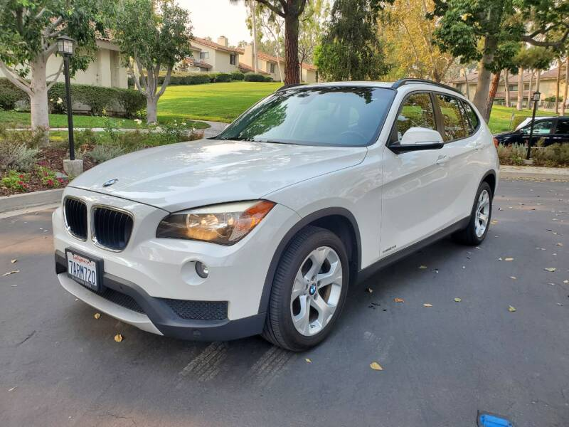 2013 BMW X1 for sale at E MOTORCARS in Fullerton CA