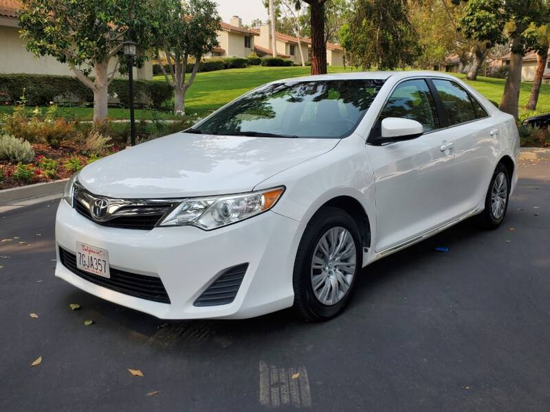 2014 Toyota Camry for sale at E MOTORCARS in Fullerton CA